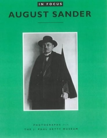 August Sander : Photographs from the J. Paul Getty Museum по 750.00 руб от изд. Getty