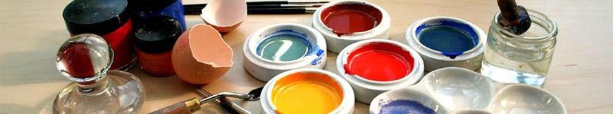 Как сделать темперную краску в домашних условиях