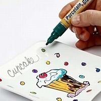 Маркеры для росписи по стеклу и керамике